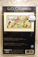 Набор для вышивания Dimensions 65055 Виньетка с бабочками Butterfly Vignette