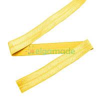 Тесьма эластичная для повязок, ЖЕЛТАЯ, 15 мм