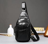 Мужская кожаная сумка. Модель 61299, фото 7