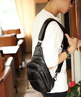 Мужская кожаная сумка. Модель 61299, фото 2