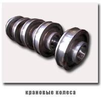 Изготовление крановых колес