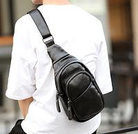 Мужская кожаная сумка. Модель 61299, фото 5