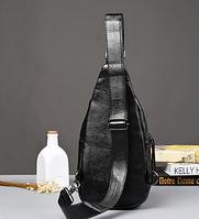 Мужская кожаная сумка. Модель 61299, фото 8