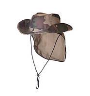 Шляпа FORMAX камо с защитой от солнца