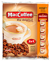 Растворимый кофе Maccoffee Original 3в1, 100 пакетиков