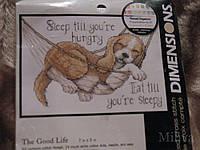 Набор для вышивания Dimensions 65058 Хорошая жизнь The Good Life