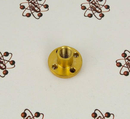 Трапециевидной винт THSL-300-8D (шаг резьбы 1 мм), фото 2