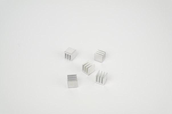 Комплект радиаторов для драйверов шаговых двигателей A4988 и подобных