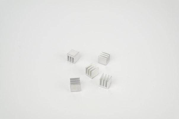 Комплект радиаторов для драйверов шаговых двигателей A4988 и подобных, фото 2