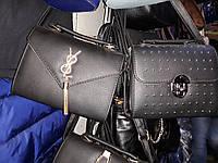 Женская сумка модного дизайна синего цвета