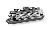 Объемная металлическая 3D модель Корабль Statem Island Ferry, фото 1
