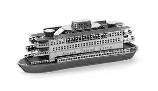 Объемная металлическая 3D модель Корабль Statem Island Ferry