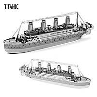 Объемная металлическая 3D модель Корабль Titanic