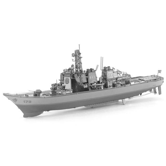 Объемная металлическая 3D модель Корабль Chaser