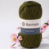 Kartopu Elite Wool - 410 хаки