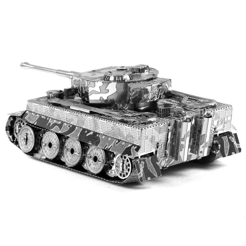 Объемная металлическая 3D модель Танк Tiger I Tank