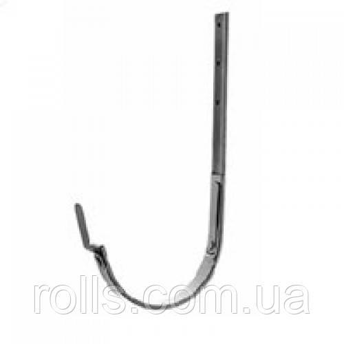 Крюк оцинкованный, S/S, 280 (127)мм, 25*6*390мм Rheinzink prepatina schiefergrau