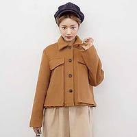 Новые поступления симпатичный корейский институт ветра шерстяная куртка лацканевая куртка 05687022