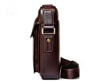 Чоловіча шкіряна сумка. Модель 61303, фото 6