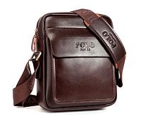 Чоловіча шкіряна сумка. Модель 61303, фото 2