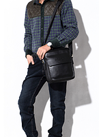 Чоловіча шкіряна сумка. Модель 61303, фото 7