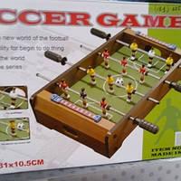 Детский деревянный футбол настольный 235