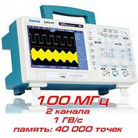 """Осциллограф Hantek DSO5102P, 100МГц, 2 канала, 7"""" дисплей, 1 Гвыб/сек"""