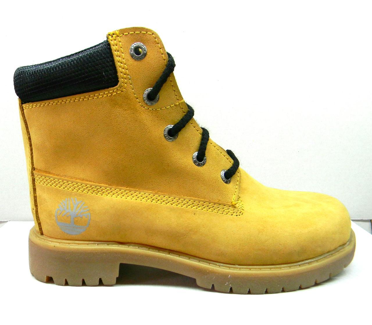 Детские подростковые зимние ботинки Timberland опт - Обувный магазин