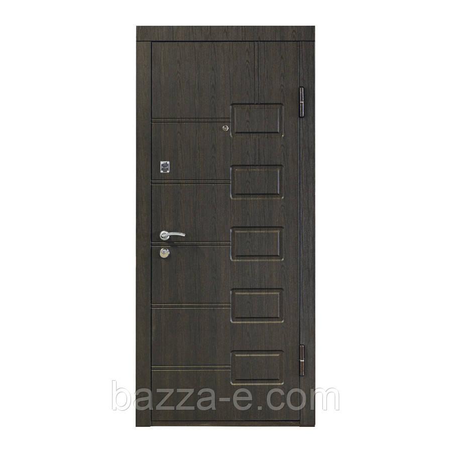 """Входная бронированная дверь """"Кордон"""" модель Оптима++,цвет Венге структурный - Бazza-Е в Одессе"""