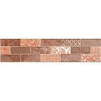 Декор Zeus Ceramica Fascia Brick Cotto 7,5х32,5 (Зеус керамика Фасия Брик Котто)