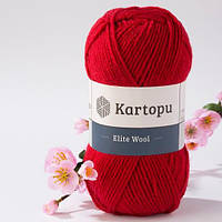 Kartopu Elite Wool - 420 красный