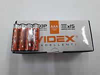 "Батарейки ""Videx"" R03"