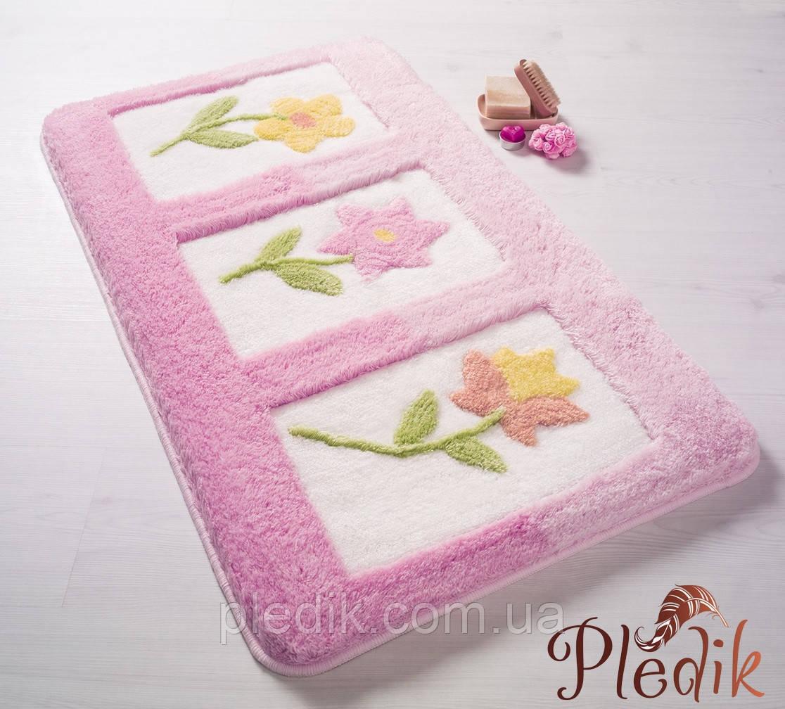 Коврик для ванной 50х60 Confetti Elite Anjelik Bebe Pembe розовый