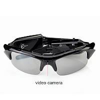 Очки поляризационные с видеокамерой.