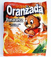 Растворимый напиток со вкусом апельсина Oranzada 15 г Польша