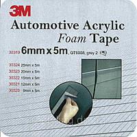 3M™ GT 6008 Пеноакриловая двухсторонняя клеящая лента ( скотч ) 6мм х 5м, толщ. 0,8мм