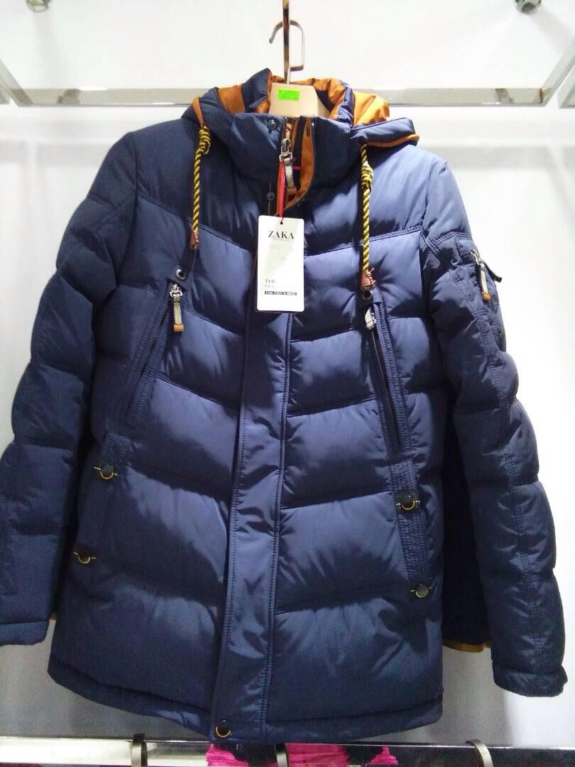 cb586ab0 Молодежная куртка мужская синего цвета - Куртки оптом, мужские куртки,  женские куртки Шлепки оптом