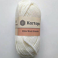 Kartopu Elite Wool Grande - 010 белый