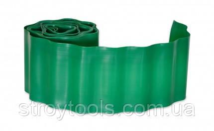 Бордюр газонный,зеленый,10 см х 9 м,Verano,71-840,Киев. - Ручной инструмент  STROYTOOLS в Киеве
