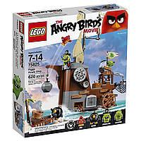 Lego Angry Birds Пиратский корабль свинок 75825 СУПЕРЦЕНА