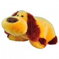 Подушка-собачка маленькая карамельная В019 38см