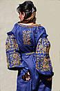 Платье лен вышитое золотой нитью, бохо, вышиванка, этно, бохо-стиль, вишите плаття вишиванка, Bohemian, фото 7