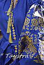 Платье лен вышитое золотой нитью, бохо, вышиванка, этно, бохо-стиль, вишите плаття вишиванка, Bohemian, фото 8