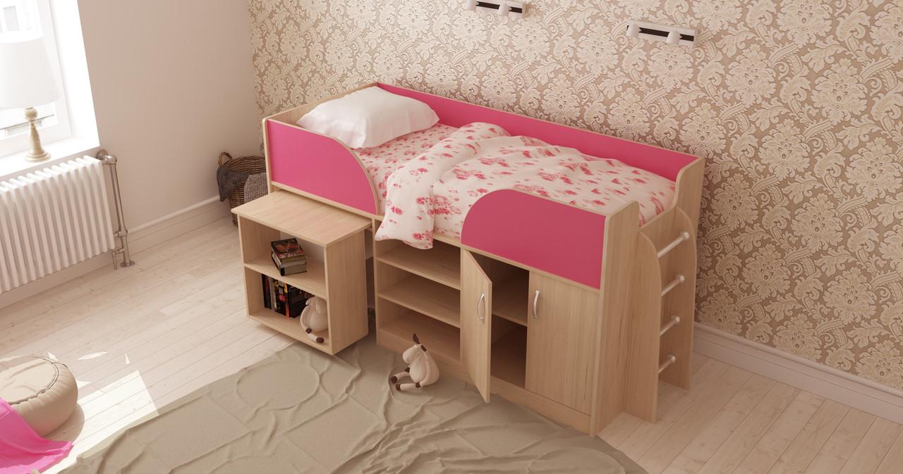 """Детская кровать-трансформер """"Пумба"""""""