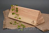 Блок для йоги специальный треугольный №23