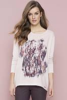 Zaps осінь-зима 2017-2018 блузка ABELLA 058 рожевий