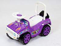 Машинка-каталка 419 Ориончик фиолетовая