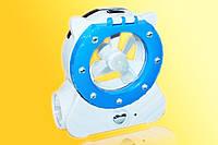 Фонарь-лампа для туриста 5822 1W+22LED+вентилятор