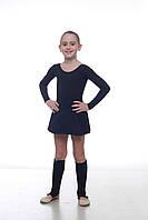 Гетры черные подростковые Dance&Sport 40см , фото 1