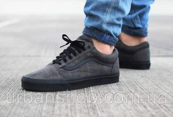Купить Кеди Vans Old Skool Dark Grey в Интернет-магазине